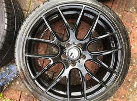 Alloy wheels for VW T6 transporter