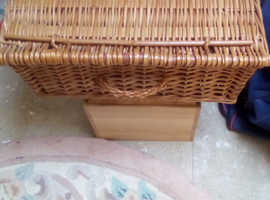 Empty Picnic Basket