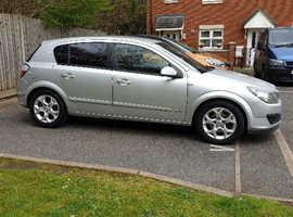 Vauxhall Astra, 2006 (06) Silver Hatchback, Manual Diesel, 137,000 miles