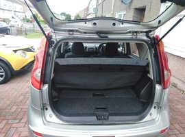 Nissan Note, 2007 (57) Silver MPV, Manual Petrol, 47,000 miles