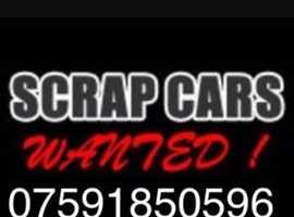 Scrap cars wanted car van 4x4 metal disposal vehicle recycling uplift collect scrapcar