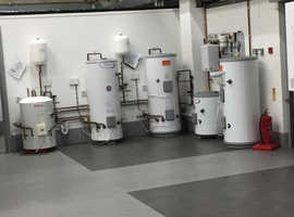 unvented cylinders all sizes
