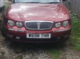 Rover 75, 2000 (W) Red Saloon, Automatic Petrol, 65,707 miles