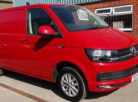2019(19) VW T6 in Cherry Red - Highline, SWB, DSG CAMPERVAN