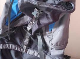 Grey/Blue Rucksack