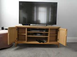 Nathan Curved Corner TV Unit