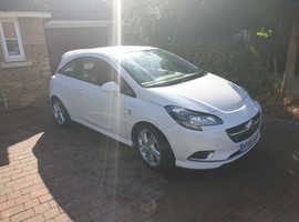 Vauxhall Corsa, 2015 (65) White Hatchback, Manual Petrol, 29,500 miles