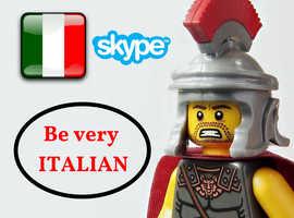Learn Italian easily! Native teacher gives classes online