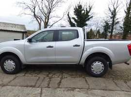 Nissan Navara, 2016 (16) Silver 4x4, Manual Diesel, 37,000 miles