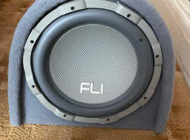 Fli active trap subwoofer and amp
