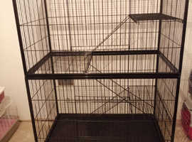 Multi level indoor pet activity centre  great condition for cats, rabbits, birds