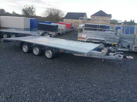 TRI AXLE CAR TRANSPORTER BRAND NEW 3500KG