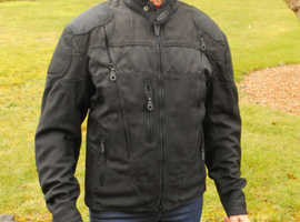 Harley-Davidson All-Weather Motorcycle Jacket Size Small 34-37 Cost £425.00