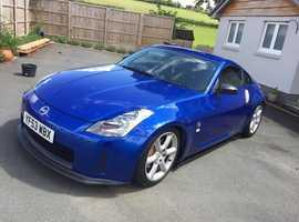 Nissan 350 Z, 2004 (53) Blue Sports, Manual Petrol, 103,000 miles
