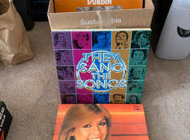 Job lot of mixed LPs 60s 70s