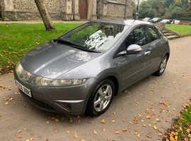 Honda Civic, 2006 (06) Grey Hatchback, Manual Petrol, 88,000 miles