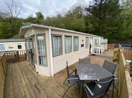 Sited Static Caravan For Sale On West Coast Of Scotland - Free Site Fees - 12 Month Park