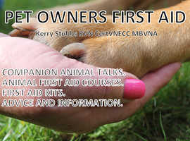 Fully Accredited Animal (predominately cats & dogs) First Aid Course