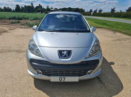 PEUGEOT 207 1.6 HDI SPORT 5spd MANUAL 12 MONTHS M.O.T NO ADVISORIES