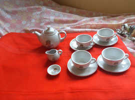 Toy china teaset.