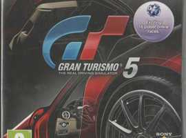 Sony Play Station 3 Gran Turismo 5 with instructions