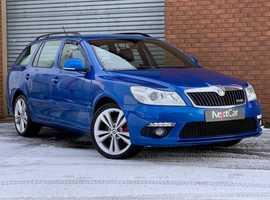 Skoda Octavia, 2013 (13) blue estate, Semi auto Diesel, 75,428 miles
