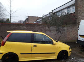 Fiat Punto GT Turbo, 1998 (R) Yellow Hatchback, Manual Petrol, 86,000 miles