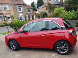 Vauxhall Adam, 2014 (14) red hatchback, Manual Petrol, 30,500 miles