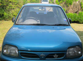 Nissan Micra, 1998 (R) Blue Hatchback, Manual Petrol, 33,933 miles