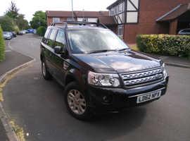 Land Rover Freelander, 2012 (62) Black Estate, Manual Diesel, 99,854 miles