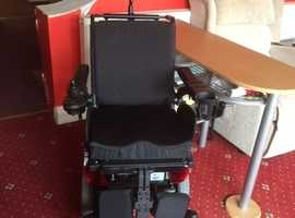 Quickie salsa M2 Mini electric powered wheelchair, powered tilt, lift and recline