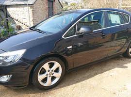 Vauxhall Astra, 2012 (12) Black Hatchback, Manual Diesel, 98,000 miles