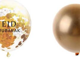 Eid Mubarak Confetti Balloons x10 for £5.49