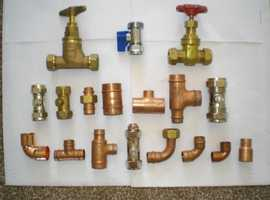 PLUMBING AND CENTRAL HEATING  FITTINGS