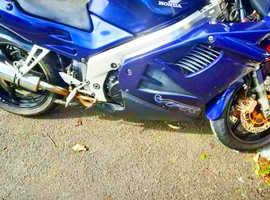 Honnda VRF750S . Very quick bike