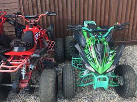 125 quad bikes