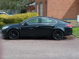 Vauxhall Insignia, 2011 (11) Black Hatchback, Manual Diesel, 82,000 miles