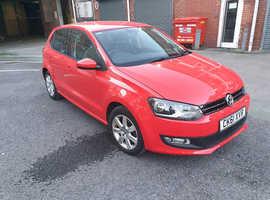 Volkswagen Polo, 2011 (61) Red Hatchback, Manual Diesel, 97,100 miles