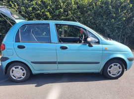 Daewoo Matiz, 2004 (04) blue hatchback, Manual Petrol, 51000 miles