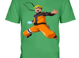 Great shirt for Naruto Uzumaki fans, adults and kids