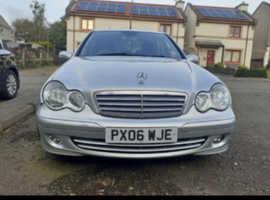 Mercedes C CLASS, 2006 (06) Silver Saloon, Manual Petrol, 74,000 miles