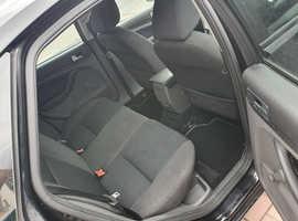 Ford Focus, 2007 (57) Black Hatchback, Manual Diesel, 110,000 miles