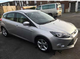 Ford Focus, 2014 (64) Silver Hatchback, Manual Diesel, 54,035 miles