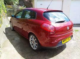 Fiat Bravo Sport, 2007 (57) Red Hatchback, Manual Diesel, 87,000 miles