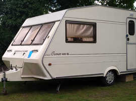 Caravan Bessacrre Cameo 1990 good condition - no leak no dump