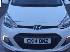 Hyundai i10, 2014 (14) White Hatchback, Manual Petrol, 49,800 miles