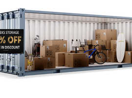 Self Storage 50% Off First 4 week at Southwick Storage!