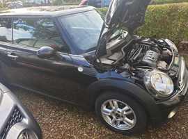Mini MINI, 2008 (58) Black Hatchback, Manual Petrol, 117,000 miles