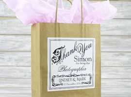 Customized Wedding Gift Bags & Wedding Favours