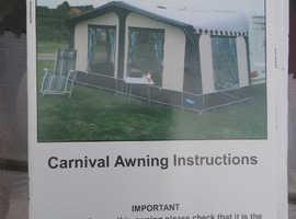 KAMPA CARNIVAL AWNING